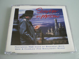 CD-MAXI-SINGLE-CD3-MICHAEL-JACKSON-STRANGER-IN-MOSCOW-COLLECTOR-COMME-NEUF