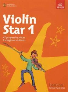 Violin-Star-1-Student-039-s-Book-Sheet-Music-Book-CD-ABRSM-Pupil-Beginner-039-s