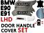 thumbnail 3 - Black Door Handle Cover BMW 3 Series E90 E91 320d, 328i, 330d (04-2012) SET LHD