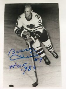099d8d97d4d Image is loading Bobby-Hull-Autographed-Photo-Authentic-Blackhawks -Jets-Whalers-