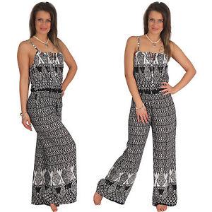 Overall-AZTEC-motivo-tuta-tuta-intera-elasticizzato-pantaloni-completo-partito