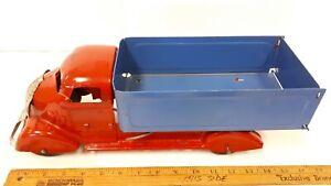 1940-039-s-MARX-034-Dump-Truck-034-Original-Toy-Outstanding-Original-Condition