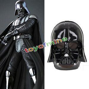 Image is loading Supreme-Edition-Darth-Vader-Costume-Mask-Star-Wars-  sc 1 st  eBay & Supreme Edition Darth Vader Costume Mask Star Wars Adult Mens | eBay
