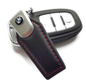 BMW M Alcantara Black Suede Keyring
