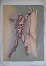 LA SALLE LASALLE CHARLES LITHOGRAPHIE SIGNÉE AU CRAYON EA HANDSIGNED LITHOGRAPH