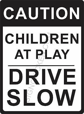 "SLOW DOWN  9"" x 12"" ALUMINUM SIGN - NEW IN PACKAGE- road sign - street sign-"