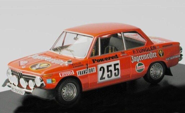 BMW 2002  TI RALLYE  255 Jagermeister Silencieux Nelly Monte voiturelo 1973 TR 1 43  beaucoup de surprises