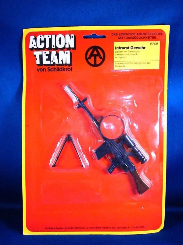 1970 Tedesco Azione Squadra Infrarossi Pistola