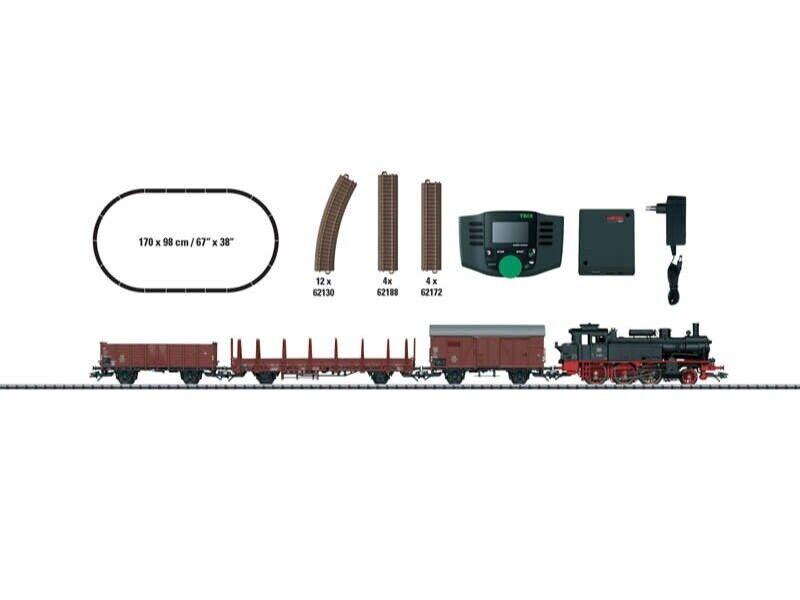 Trix 21528 digital-Estrellat envase 'tren de Cochega época III' h0