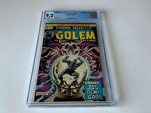 STRANGE-TALES-177-CGC-9-2-WHITE-PAGES-GOLEM-MARVEL-COMICS-1974