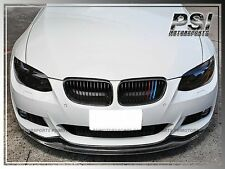 2011+ BMW E92 E93 AK Style Carbon Fiber Front Bumper Add On Lip M Sports 328i