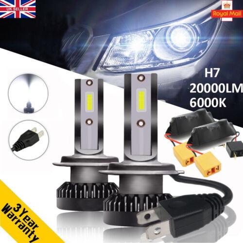 CANBUS 110W 20000LM Car LED Headlight Bulbs H7 Globe Lamps Kit Error Free 6000K