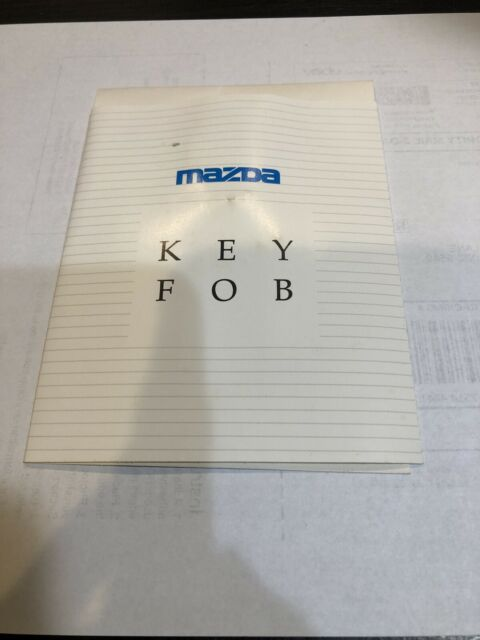 1990 1991 1992 Factory Mazda Logo Key Chain 632 626 929