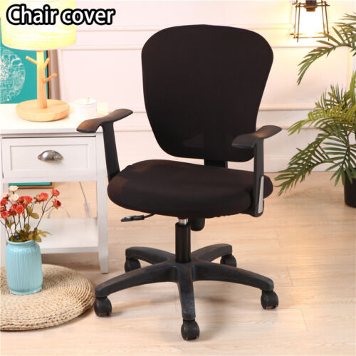 Study Office Armchair Computer Swivel Rotating Chair Cover Protector Decoration