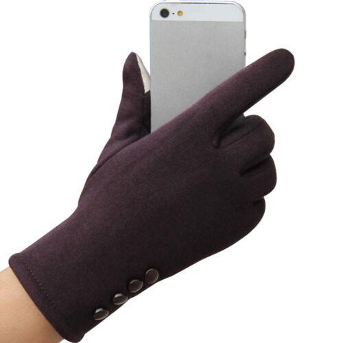 Fashion Women Winter Warm Gloves Touch Outdoor Sport Ski Gloves Mittens