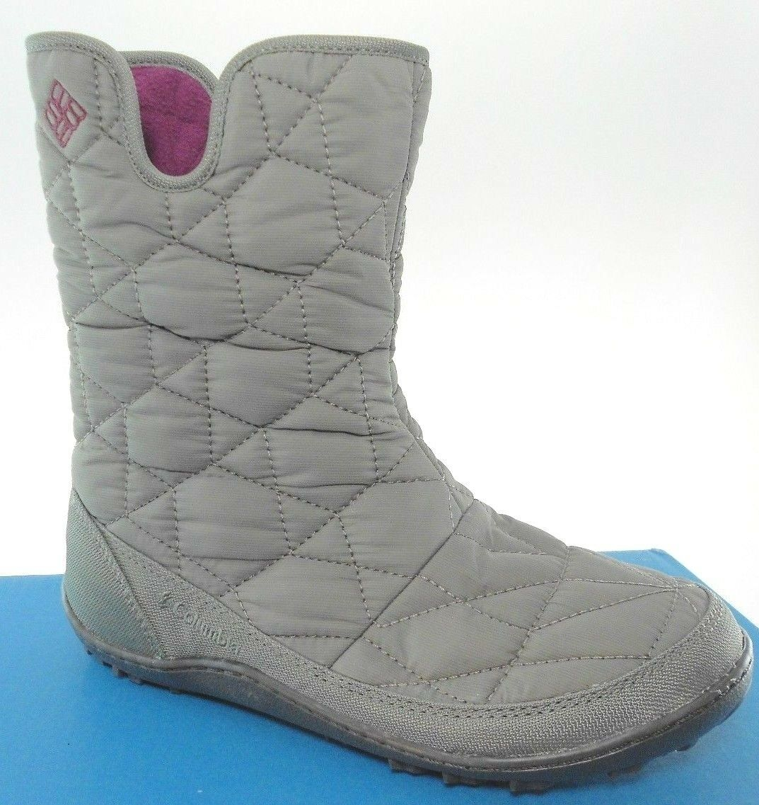 COLUMBIA POWDER SUMMIT SLIP WOMEN'S WATERPROOF INSULATED ZIP BOOTS, YL5310-052