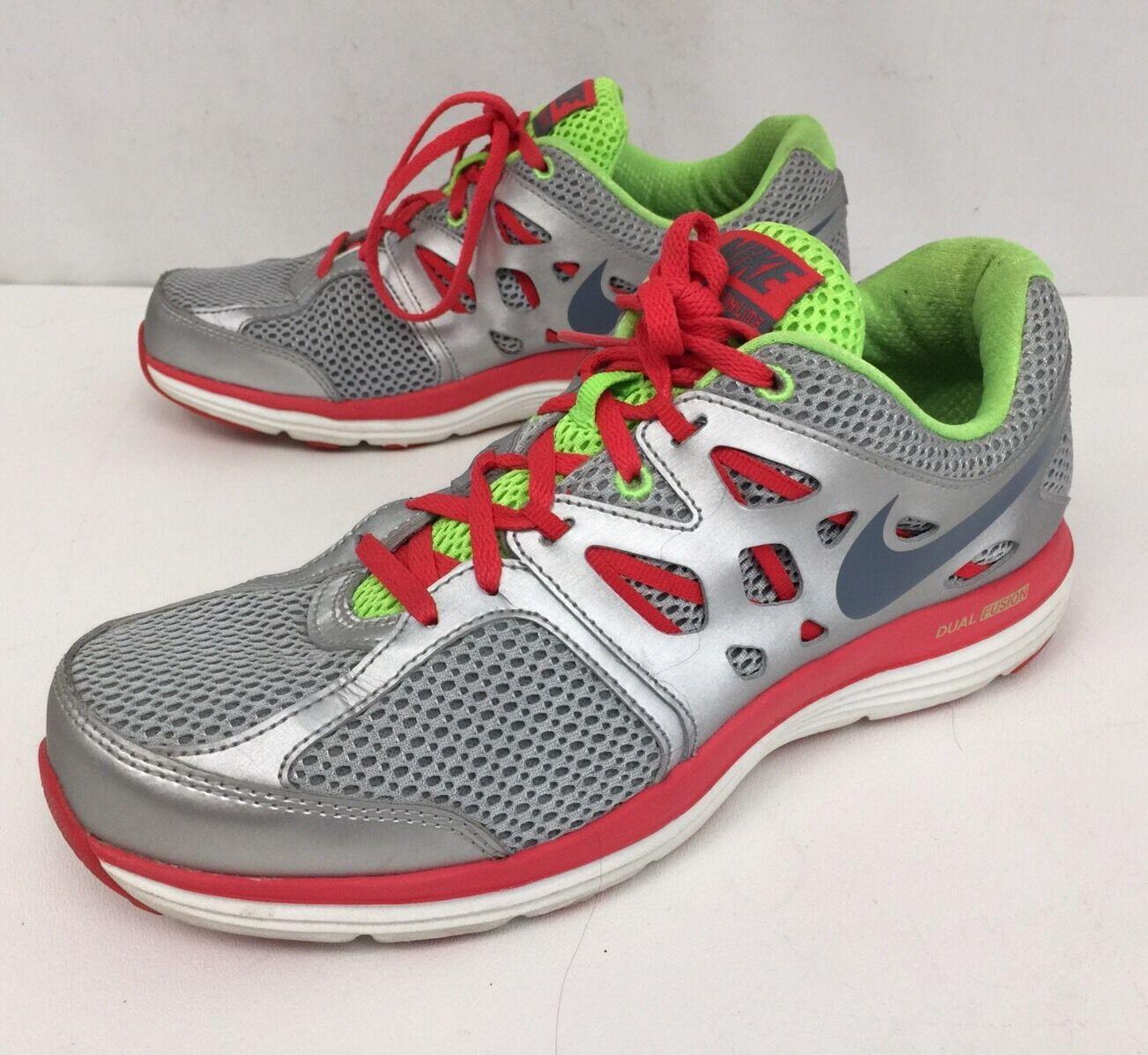 Nike donne donne donne dimensioni 7 grigio verde 599571-007 rosa doppia fusione delle scarpe da corsa atletica | Lo stile più nuovo  | Uomo/Donne Scarpa  ad9cff