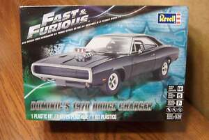 Details about REVELL FAST & FURIOUS DOMINIC'S 1970 DODGE CHARGER MODEL KIT 125 SCALE