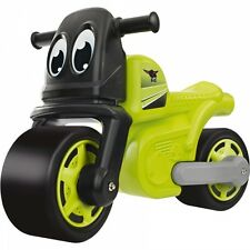 BIG Racing Bike Motorrad Laufrad Kinderfahrzeug Rutscher grün/schwarz