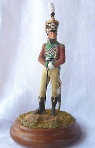 Figurine1er Empire Royaume De Saxe Officier Chevau-léger Prince Clément - 90mm