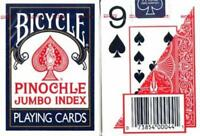 Large Print Pinochle Playing Cards - 2 Deck Gift Set By Magnifying Aids, New, Fr on sale