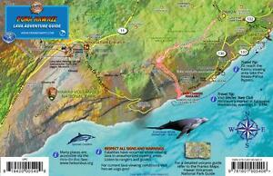 Hawaii Map Lava.Puna Hawaii Lava Adventure Guide Map Kilauea Volcano Big Island