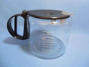 Braun Coffee Maker Replacement Carafe 12 Cup : CARAFE for Braun Aromaster 12 Cup Coffee Maker Type 4063 replacement part black eBay