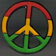 peace and love logo rasta colors pin ebay peace and love logo rasta colors pin ebay
