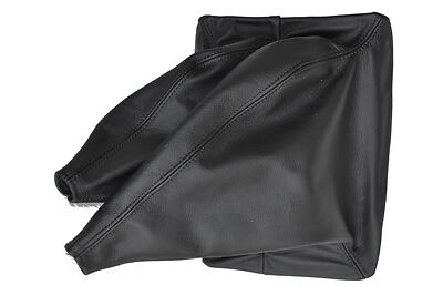 BLACK STITCHING FITS NISSAN NAVARA D40 2006-2012  GEAR GAITER SHIFT BOOT