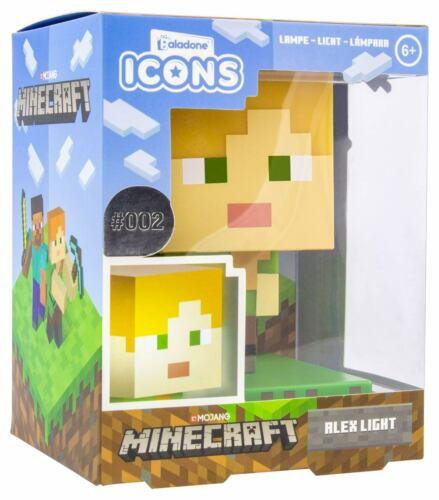 Paladone Minecraft 3D Icône Lumière Alex