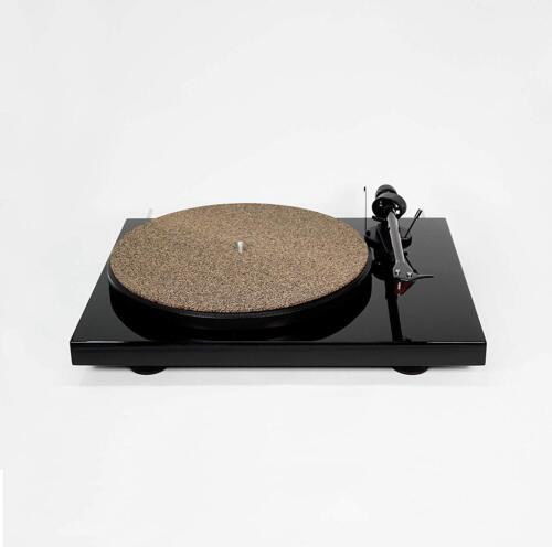 """NEW CoRkErY Cork N Rubber Turntable Platter Mat1//16/""""Audiophile Slipmat"""