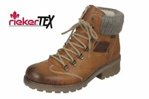 Rieker-Tex-Z0444-24-Brown-Ladies-Warm-Lined-Water-Resistant-Lace-Up-Ankle-Boots