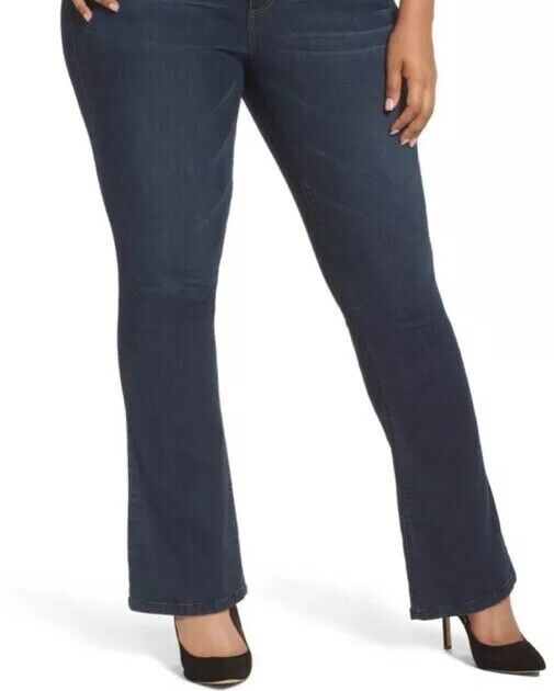 NEW Wit And Wisdom Plus Size 20W Ab Solution Boot Cut Jeans