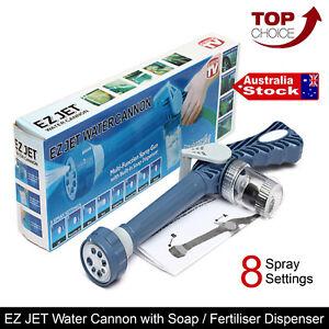 Ez Jet Water Cannon 8 In1 Soap Dispenser Turbo Water Spray Gun Car