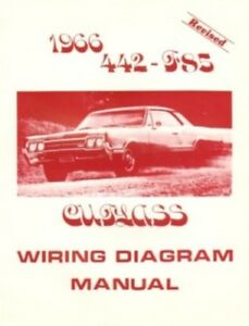 cutlass wiring diagram oldsmobile 1966 f85  442   cutlass wiring diagram ebay  oldsmobile 1966 f85  442   cutlass