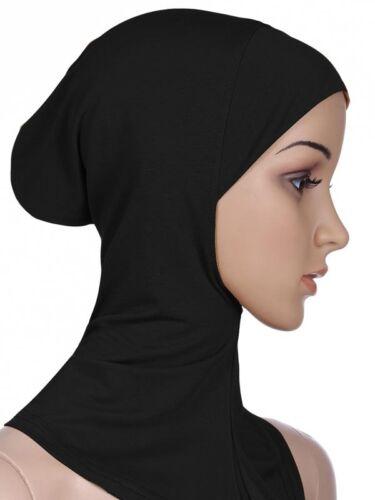 Women/'s Under Scarf Hat Cap Bone Bonnet Ninja Hijab Islamic Neck Cover Muslim
