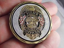 St Michael Police Officer Badge Law Enforcement Challenge Coin collectible