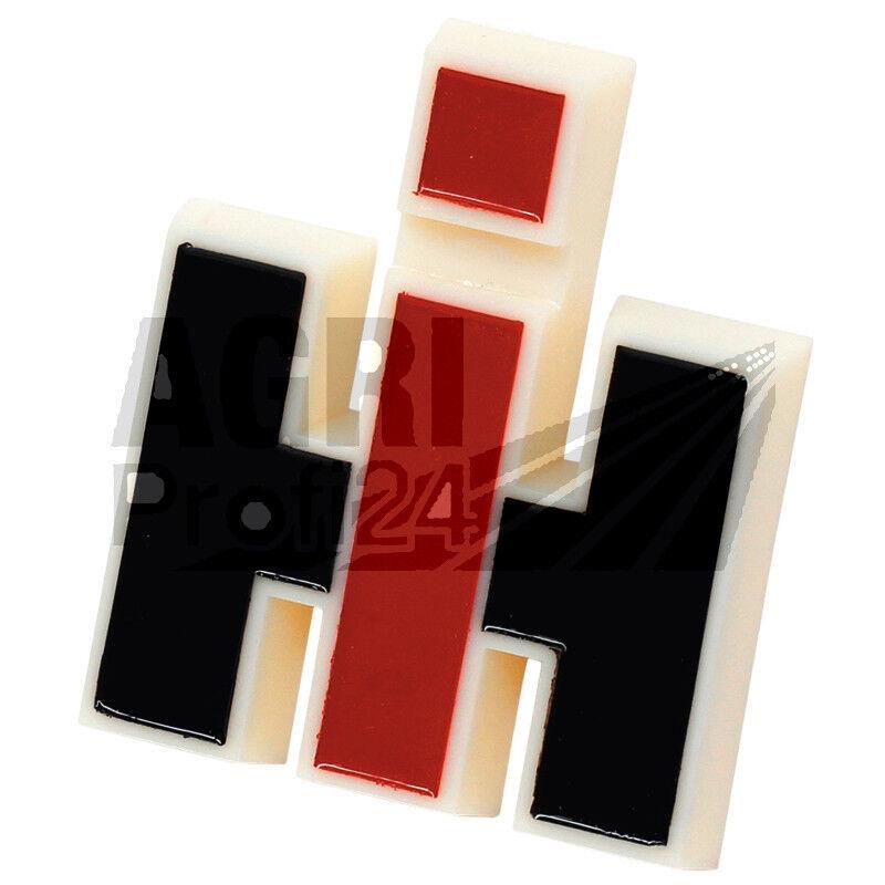 IHC Mc Cormick Aufkleber 323 kurz Silber Traktor Logo Emblem Sticker Label