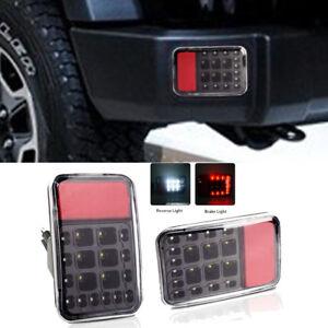 Details About 2x Rear Bumper Tail Reversing Led Lights Backup Lamps For Jeep Wrangler Jk 07 16