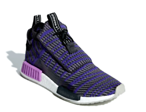 Adidas NMD_TS1 PrimeKnit Men's Size 9-13 (BB9177) Carbon Energy Ink Grey