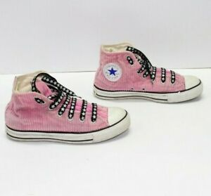 CONVERSE ALL STAR Rosa Alte usate EUR 39 UK 6 Mens 6 (COD.DPS887) Unisex