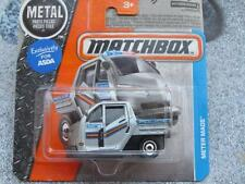 Matchbox 2016 #016/125 METER MADE silver police MBX Adventure City Case G
