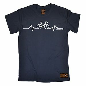 Bike-Pulse-T-SHIRT-Tee-Cycling-Bicycle-Riding-Medic-Doctor-birthday-fashion-gift