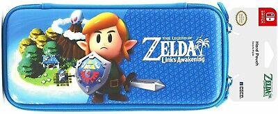Official Nintendo Switch Case Legend Of Zelda Link S Awakening Hard Travel Pouch Ebay