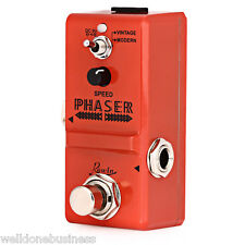 ROWIN LN - 313 Analog Phaser Guitar Effect Pedal True By Pass Musical Instrument