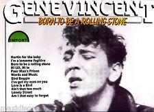 LP - Gene Vincent - Born To Be A Rolling Stone (ROCK) LP VINYL MINT, ULTRA RARE