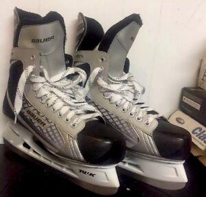 23fb7c41863 Bauer Vapor X 05 Ice Hockey Skates Tuuk Lightspeed Pro Youth Size ...