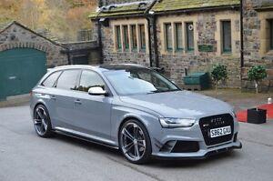 Audi RS4 Full Body Kit for Audi A4 B8 Avant Estate | eBay