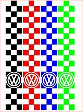 VOLKSWAGEN VW BORA GOLF POLO LUPO SHARON MOTORHAUBEN-STREIFEN KONTROLLEN