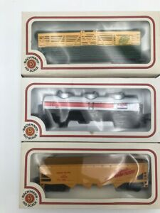 Lot-of-3-Bachmann-HO-Trains-NEW-in-Original-Boxes-70100-70600-71500